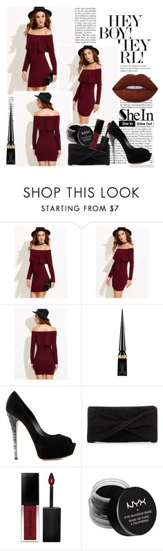 """""""Untitled #148"""" by abby864 ❤ liked on Polyvore featuring Christian Louboutin, Casadei, Reiss, Smashbox, NYX and Lime Crime"""