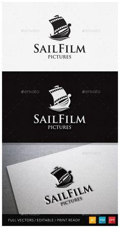 Sail Film Logo Template - Objects Logo Templates