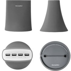 Jelly 5.1A USB Charging Station in GREY!  MSRP $49.95 To order contact: sales@newideasales.com