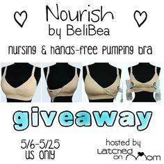 ab819e2c1 Enter to a Nourish by BeliBea Nursing   Hands-Free Pumping Bra