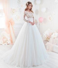 Vestidos de novia romanticos 2019