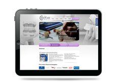 Projekt i wykonanie strony internetowej dla Klienta prowadzącego laboratorium protetyczne wiecej w naszym portfolio: http://www.broker-media.pl/portfolio/