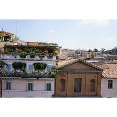 Balcony view in Rome Hotels With Balconies, Art Photography, Travel Photography, Neverland, Four Square, Balcony, Paris Skyline, Louvre, Wanderlust