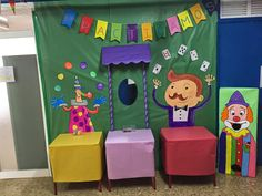 "EL RINCON DE LA MAESTRA: IX Semana de las letras: ""Un circo de letras"" English Activities, Activities For Kids, Fiesta Decorations, Circus Theme, Fiesta Party, 4 Kids, School Projects, Cute Drawings, Kids Learning"