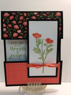 My Creative Corner!: A Wild about Flowers and Rose Wonder Open Panel Technique Card