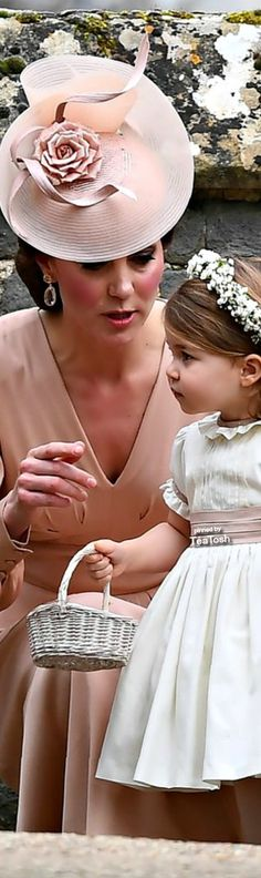 ❇Téa Tosh❇ Duchess Catherine & Princess Charlotte at Pippa Middleton's Stunning Wedding