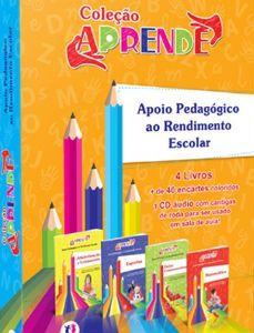 COLEÇÃO APRENDE APOIO PEDAGÓGICO AO RENDIMENTO ESCOLAR - ISBN 9788538028338