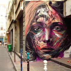 Here's collection of 12 Creative Street Art and Graffiti Designs of various artists. Street art and graffiti designs are using commonly as this drift has become so popular. Graffiti bring into being in the 3d Street Art, Murals Street Art, Street Art Utopia, Urban Street Art, Best Street Art, Amazing Street Art, Mural Art, Street Artists, Amazing Art
