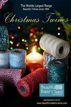 christmas crafting twines