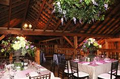 Barn Wedding Decoration Pictures | Rustic Chic Barn Wedding Decor and Design by Something New Events ...