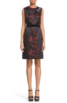 MARC JACOBS Sleeveless Floral Jacquard Sheath Dress available at #Nordstrom