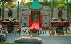 LEGO Chinese Theater in Miniland USA at LEGOLAND California!