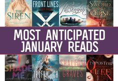 The 17 Most Anticipated YA Books to Read in January