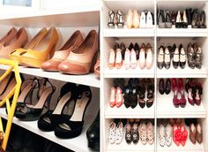 Beautifully Organized: Ideas for Shoe Storage