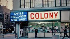 Colony Records NY... Gone but not forgotten. i bought so much sheet music here <3 #nyc #theatre #broadway
