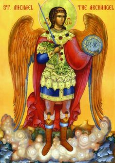 Arh.Mihail icon orthodox Religious Icons, Religious Art, Romulus And Remus, Angel Warrior, Orthodox Christianity, Archangel Michael, Orthodox Icons, Arts And Crafts, Heaven