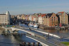 """A mais nova infraestrutura cicloviária de Copenhague é uma """"ponte estúpida"""""""