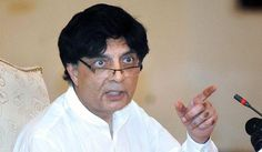 Nisar goes public with grievances against PMLN