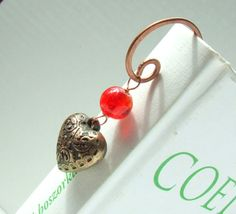 Items similar to Red heart bookmark for book lovers, graduation gift for bookworms, copper wire bookmark, Birthday or Mothers day gift for women on Etsy Cool Bookmarks, Wire Bookmarks, Bookmarks For Books, Gifts For Women, Gifts For Her, Heart Bookmark, Gifts For Bookworms, Book Markers, Book Lovers Gifts