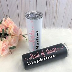Bachelorette Party Gifts, Gifts For Wedding Party, Bridal Gifts, Wedding Ideas, Wedding Decor, Junior Bridesmaid Gifts, Bridesmaid Proposal Gifts, Personalized Wedding Gifts, Personalized Tumblers