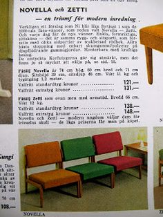 Designkarameller: IKEA 1963