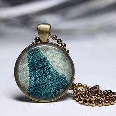 Eiffel tower pendant Paris necklace eiffel by parisjewelryaisha, $18.00