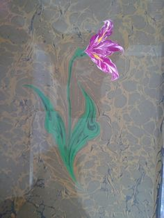 ebru sanatı ( marbling art )by Mai Hatti
