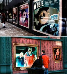 More digital shop front windows