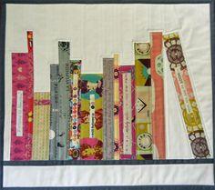 Free Quilt Pattern and Tutorial - Mini Bookshelf Quilt