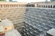 Chand Baori Stepwell in Abhaneri, India | Flickr - Photo Sharing!