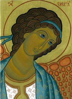 Icon of the Angel Raphael
