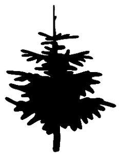 tree silhouette idea