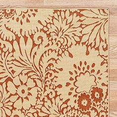 I'm stalking this rug on Worldmarket.com, waiting for it to go on sale.