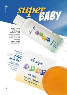 Annique | Monthly Specials ~ Rooibos-Miracle Baby Bar, Baby Shampoo, Personal Care, Self Care, Personal Hygiene