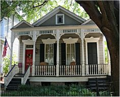 TOUR OF HOMES - NEW ORLEANS | Uptown Double into a single....