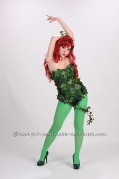 A Toxic Poison Ivy Costume ... This website is the Pinterest of costumes