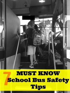 SavingSaidSimply.com - 7 MUST KNOW School Bus Safety Tips - What Kids Should Know