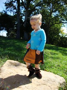 Toddler Skirt/ Upcycled Toddler Skirt with by RebirthRecycling, $30.00