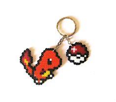 Charmander Sprite, Keychain, Sprite XL, brooch, magnet... / Llavero, SpriteXL, broche, imán... https://www.etsy.com/shop/Regalopia #Pokemon #Pikachu #videogames #videojuegos #freak #friki #geek #otaku #playstation #xbox #nintendo #trainer #entrenador #pokeball