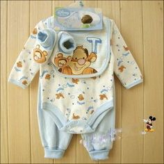 4-piece Disney baby boy set. Somebody find this for our baby Weston (: