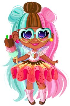 Hairdorables: Each doll package is a surprise – just pull, peel, and reveal 11 accessories and fashions that unwrap the unique personality, style, and talent of the Hairdorables girl hidden inside! Black Baby Girls, Black Girl Art, Baby Girl Toys, Toys For Girls, Lol Dolls, Cute Dolls, Cute Outfits For Kids, Cute Kids, Cute Panda Wallpaper