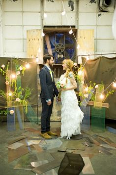 great wedding ceremony decor and flowers
