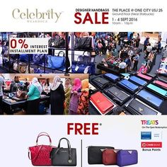 134a9289c9ab 1-4 Sep 2016  Celebrity Wearhouz Branded Handbag Sale Handbag Sale