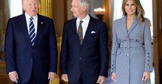 Donald Trump flies in for whirlwind Brussels visit #Politics #iNewsPhoto