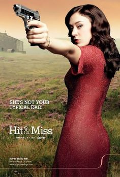 """Hit-and-Miss is a british tv series starring Chloe Sevigny as a """"pre-op transexual contract killer""""."""