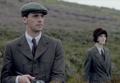 Matthew Goode as Henry Talbot and Michelle Dockery as Lady Mary. Great chemistry between them in the S5 finale.