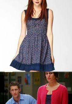 "JCPenney Olsenboye Emma Dress.  Worn by Rachel in 2x18, I believe ""Born This Way"""
