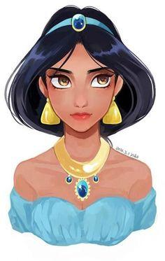 Disney's jasmine wallpaper