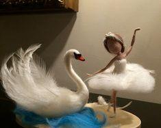 Nadel Filz Fairy Waldorf inspirierte Forest Fairy von DreamsLab3