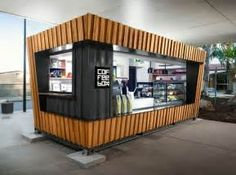 A Shipping Container Cafe or 'Pop Up Cafe' is a great way ...